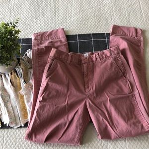 Dusty Rose Pink Chino Pants